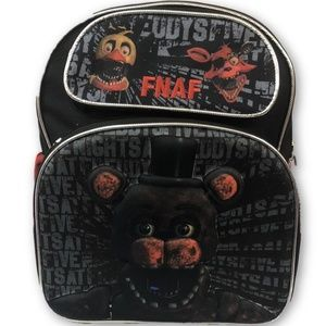 Backpack - Five Nights At Freddy'S - Toddler - 3D